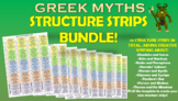 Greek Myths Creative Writing Structure Strips!