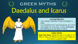 Greek Myths: Daedalus and Icarus