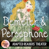 Greek Myths:  Demeter and Persephone Readers' Theater Play