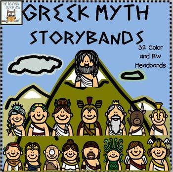 Greek Mythology Headbands