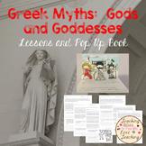 Greek Myths I:  Gods and Goddesses - Lessons and Pop Up Book
