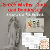 Greek Myths I:  Gods and Goddesses - Lessons and Pop Up Book