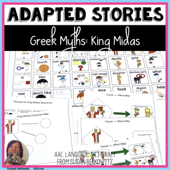 Greek Myths King Midas Cause & Effect Materials for Special Education