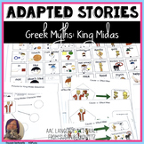 Greek Myths King Midas Cause and Effect Activities for Speech Language or SPED