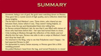 Greek Myths: Perseus and Medusa
