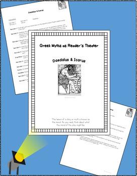 Greek Myths Reader's Theater & Mythology of Ancient Greece