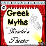 Greek Mythology Reader's Theater Scripts