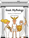 Greek Myths and Legends Reading Comprehension and Exploration