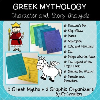 Greek Myths and Story/Character Analysis