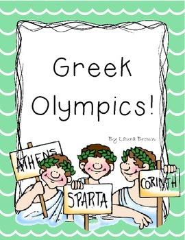 Greek Olympics Minute to Win It!