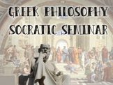 Greek Philosopher Socratic Seminar