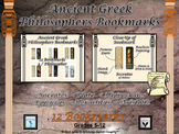 Greek Philosophers Bookmarks