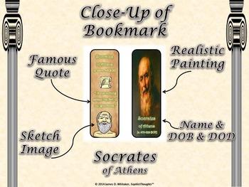 Greek Philosophers Bookmarks