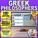 Greek Philosophers Bundle