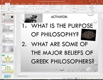 Greek Philosophy Digital Jigsaw  Western Civilization  History 101