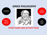 Greek Philosophy: Study Guide and Activity Pack