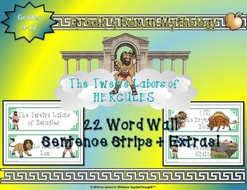 Greek & Roman Mythology 12 Labors of Hercules Mega Bundle