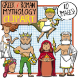 Greek + Roman Mythology Clip Art