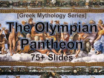 Greek & Roman Mythology Olympian Pantheon PowerPoint Common Core