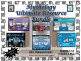 Greek & Roman Mythology Ultimate Resource Bundle Common Core