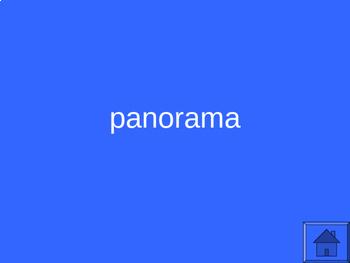 Greek Root Word Jeopardy II