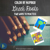 Root Words: Color by Number