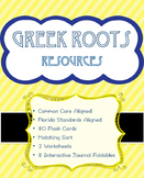 Greek Roots - Prefixes & Suffixes, Matching Sort, Interact