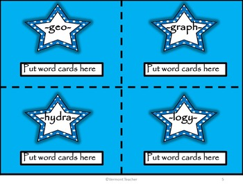 Greek Roots - A Sorting Activity