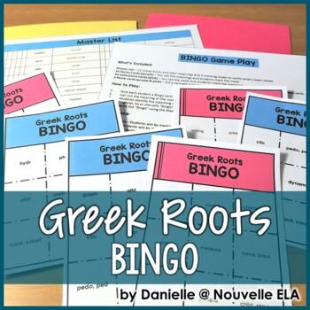 Greek Roots BINGO
