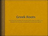 Greek Roots PowerPoint