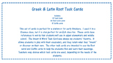 Greek Roots Task Cards