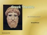 Greek Theater - the drama series