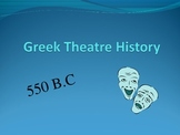 Greek Theatre History