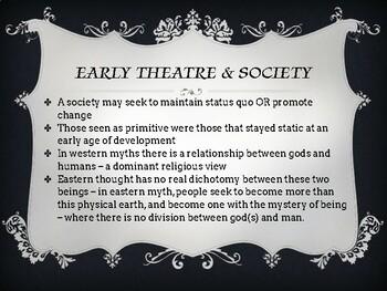 Greek Theatre History powerpoint