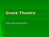 Greek Theatre PPT 2