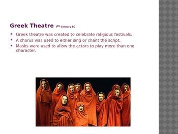 Greek Theatre PowerPoint