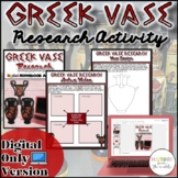 Greek Vase Research Activity {Digital}