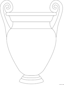 photograph relating to Vase Template Printable titled Greek Vase Worksheets and Habit Samples