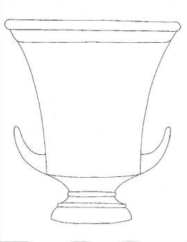 Greek Vase Worksheets And Pattern Samples By Artsycat Tpt