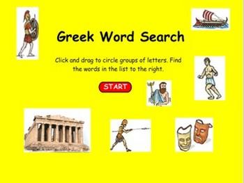 Greek Word Search - Bill Burton