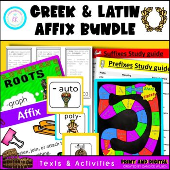 Greek and Latin Affix Bundle