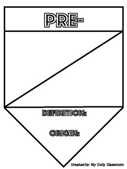 Greek and Latin Affix Banners