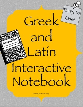 Greek and Latin Interactive Notebook