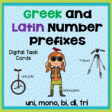 Greek and Latin Number Prefixes BOOM Cards