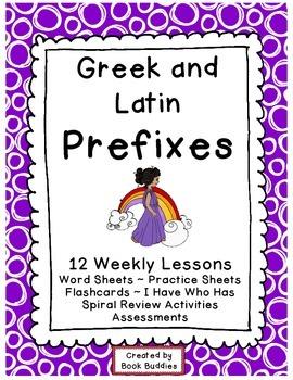 Prefixes Greek and Latin