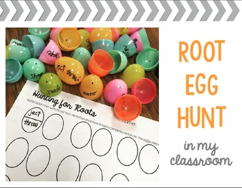 Greek and Latin Root Activity Stations