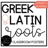 Greek and Latin Root Posters (Classroom Decor)