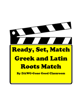 Greek and Latin Root Sort