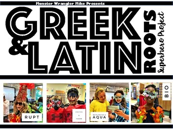 Greek and Latin Root Superhero Project