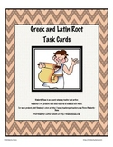 Greek and Latin Root Task Cards